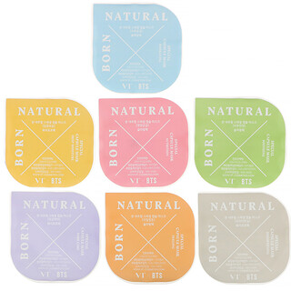 VT X BTS, Born Natural, Special Capsule Mask Kit, 7 Capsules, 5 ml Each