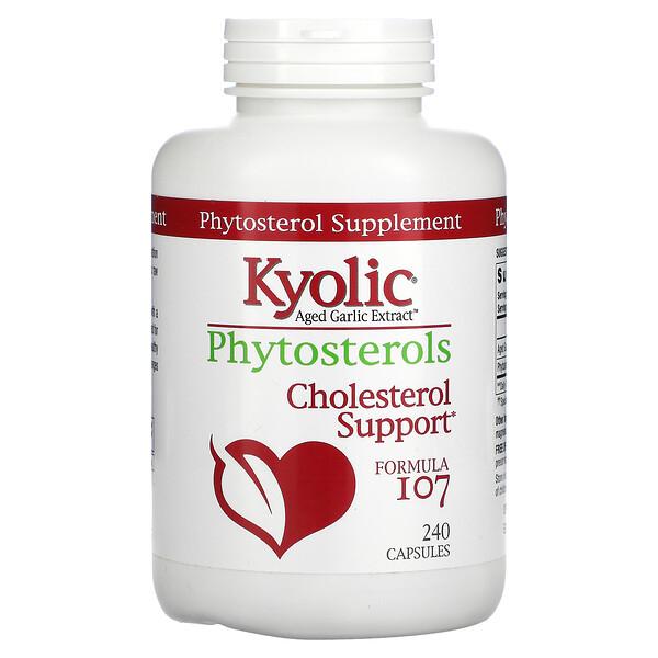 Aged Garlic Extract, Phytosterols, Formula 107, 240 Capsules