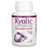 Kyolic, Aged Garlic Extract، للقلب والأوعية الدموية، تركيبة 100، 300 كبسولة