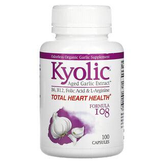 Kyolic, Aged Garlic Extract, Formula 108, 100 Capsules