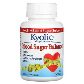 Kyolic, Extracto de Ajo Añejo, Regulador de la Glicemia, 100 Cápsulas
