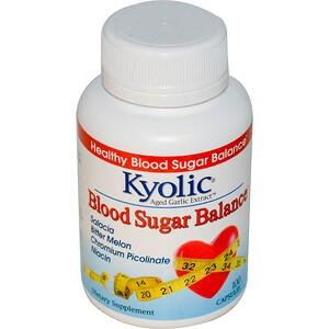 Уакунага Киолик, Aged Garlic Extract, Blood Sugar Balance, 100 Capsules отзывы покупателей