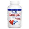 Kyolic, Omega-3, Gealterter Knoblauch-Extrakt, Cholesterin & Kreislauf , 90 Omega-3 Weichtabletten
