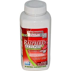 Уакунага Киолик, The Original Razberi-K, Raspberry Ketones+, Natural Calorie Burner, 100 mg, 60 Capsules отзывы