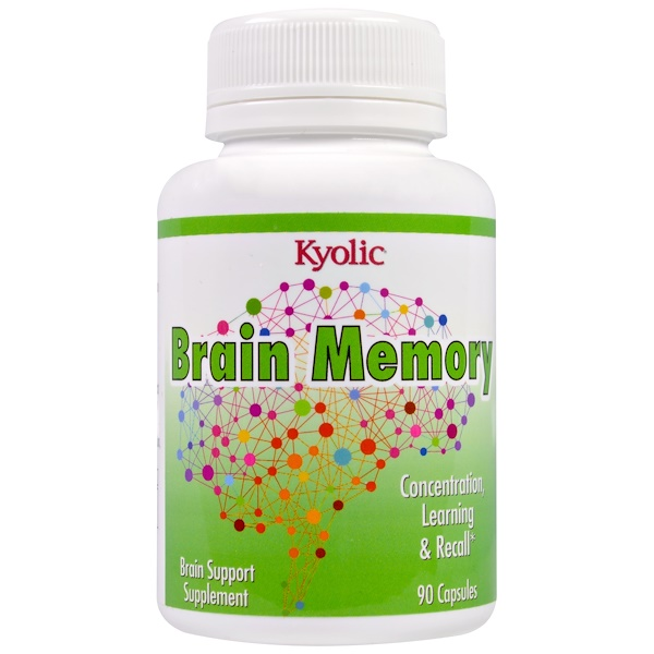 Kyolic, Brain Memory, 90 Capsules (Discontinued Item)