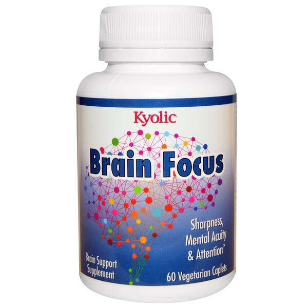 Brain Focus, 60 Vegetarian Caplets