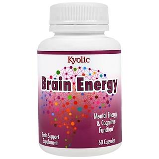 Kyolic, Brain Energy, 60 Capsules