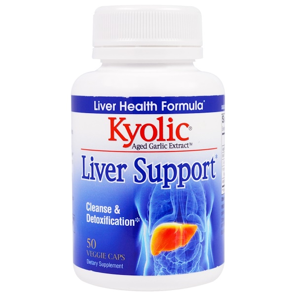 Kyolic, Liver Support, 50 Veggie Caps (Discontinued Item)