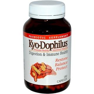 Kyolic, Пробиотик «Кио-Дофилус», 180 капсул