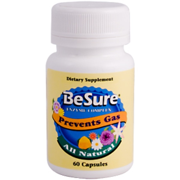 Kyolic, BeSure Enzyme Complex, 60 Capsules (Discontinued Item)