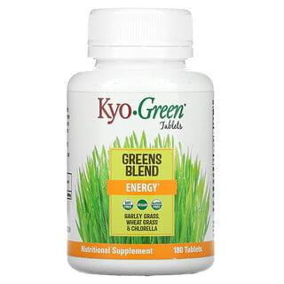 Kyolic, Kyo-Green, Greens Blend, Energy, 180 Tablets
