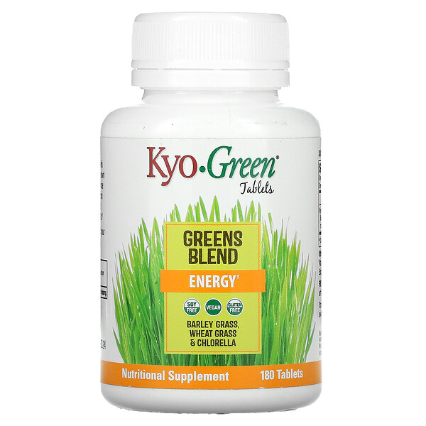 Kyo-Green, Greens Blend, Energy, 180 Tablets