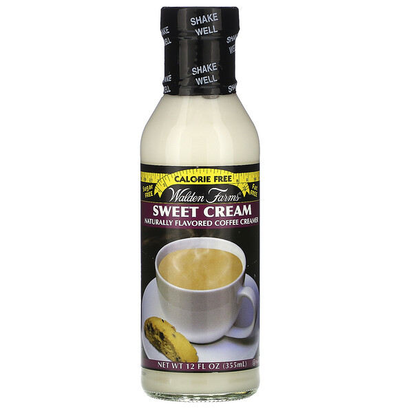 Walden Farms, Sweet Cream Coffee Creamer, 12 fl oz (355 ml)