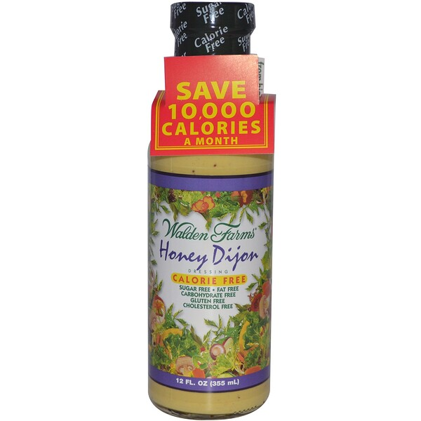 Walden Farms, Honey Dijon Dressing, 12 fl oz (355 ml)