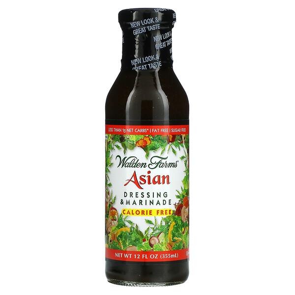 Asian Dressing & Marinade، خالي من السعرات الحرارية، 12 أوقية سائلة (355 ملل)