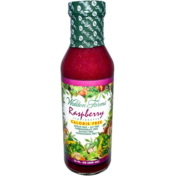 Walden Farms, Raspberry Vinaigrette, 12 fl oz (355 ml)