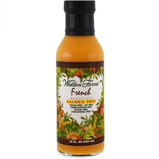 Walden Farms, フレンチドレッシング、カロリーフリー、12 fl oz (355 ml)