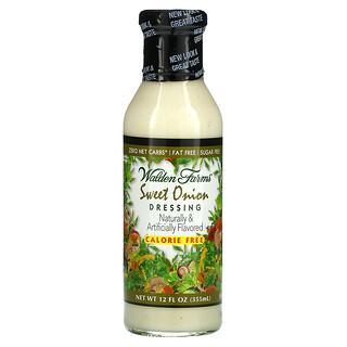 Walden Farms, مرق البصل الحلو، خالي من السعرات الحرارية ، و12 أوقية سائلة (355 مل)
