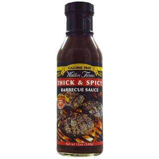 Walden Farms, Thick & Spicy Barbecue Sauce, 12 oz (340 g)