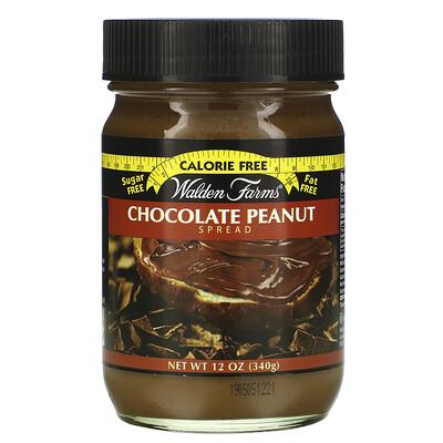 Купить Walden Farms Chocolate Peanut Spread, 12 oz (340 g)