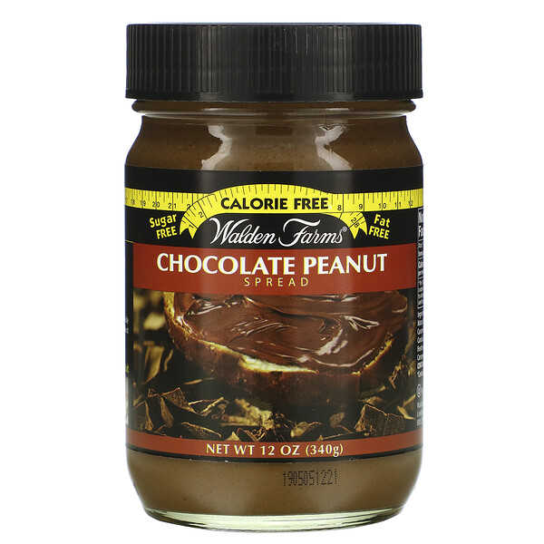 Walden Farms, Chocolate Peanut Spread, 12 oz (340 g)