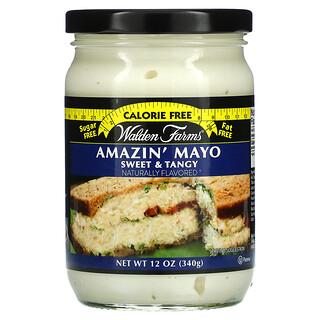 Walden Farms, Amazin' Mayo, Sweet & Tangy, 12 oz (340 g)