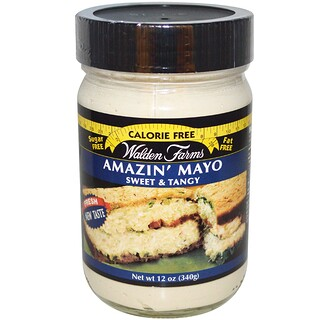 Walden Farms, Mayonesa Amazin' Mayo, Dulce & Agria, 12 oz (340 g)
