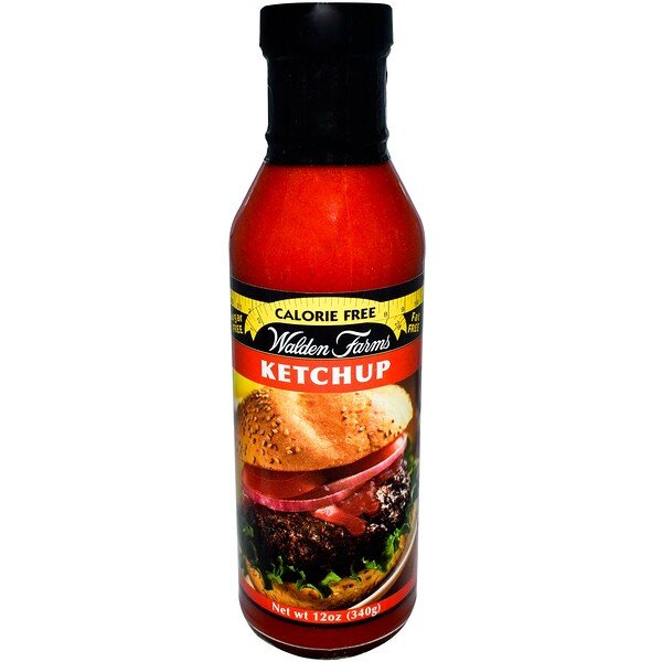 "Walden Farms, ""Kalorienfreier Ketchup, 12 oz (340 g)"""
