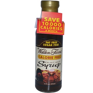 Walden Farms, Pancake Syrup, 12 fl oz (355 ml)