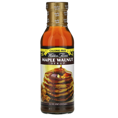 Купить Walden Farms Maple Walnut Syrup, 12 fl oz (355 ml)