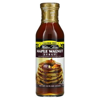 Walden Farms, Maple Walnut Syrup, 12 fl oz (355 ml)