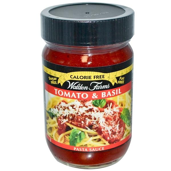Walden Farms, Pasta Sauce, Tomato & Basil, 12 oz
