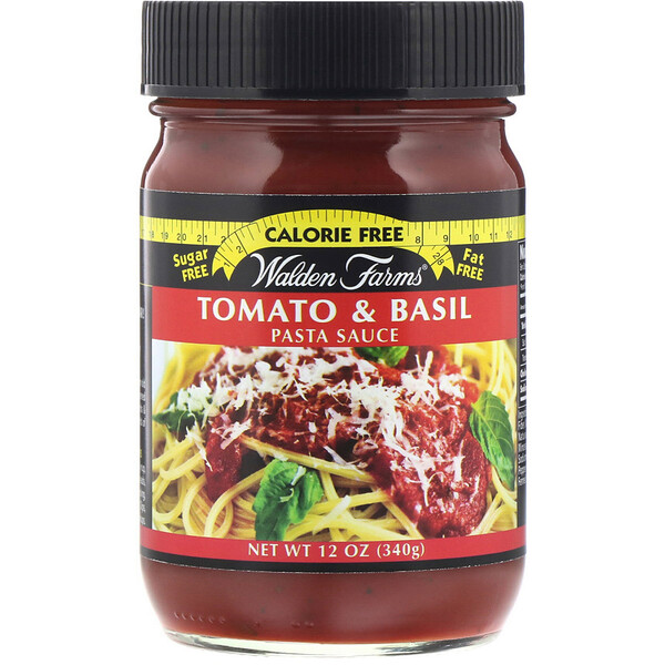 Walden Farms, Pasta Sauce, Tomato & Basil, 12 oz