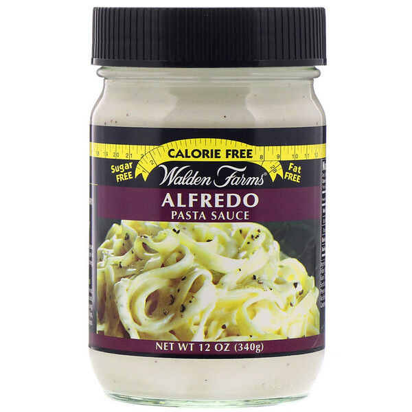 Walden Farms, Alfredo Pasta Sauce, 12 oz (340 g)