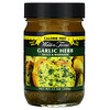 Walden Farms, Garlic Herb Sauce & Marinade, 12 oz (340 g)