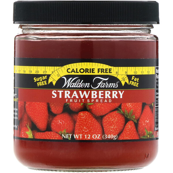 Walden Farms, Strawberry Fruit Spread, 12 oz (340 g)