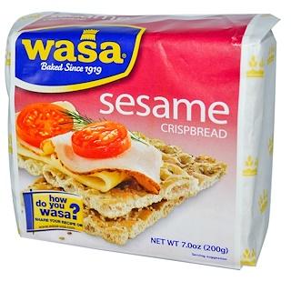 Wasa Flatbread, Crispbread, Sesame, 7.0 oz (200 g)