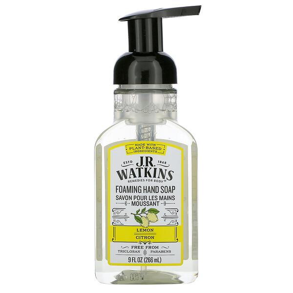 Foaming Hand Soap, Lemon, 9 fl oz (266 ml)
