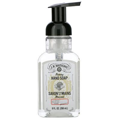J R Watkins Foaming Hand Soap, Coconut, 9 fl oz (266 ml)