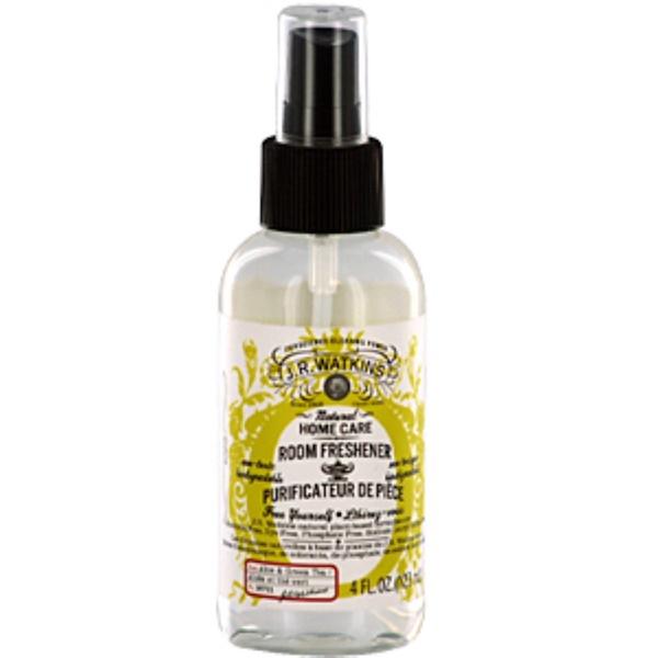J R Watkins, Natural Home Care, Room Freshener, Aloe & Green Tea, 4 fl oz (120 ml) (Discontinued Item)