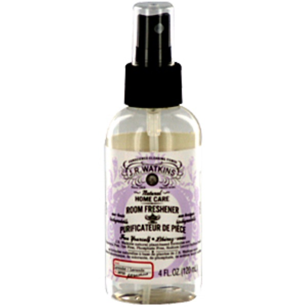 J R Watkins, Natural Home Care, Room Freshener, Lavender, 4 fl oz (120 ml) (Discontinued Item)