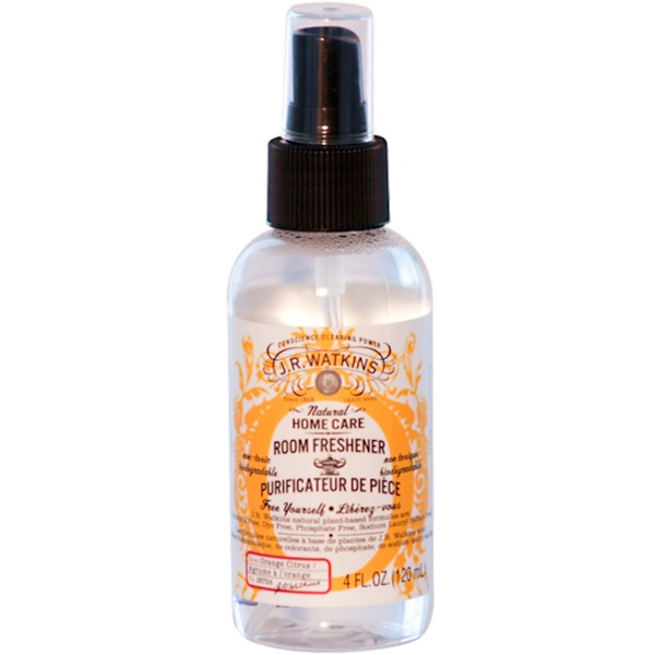 J R Watkins, Home Care Room Freshener, Orange Citrus, 4 fl oz (120 ml) (Discontinued Item)