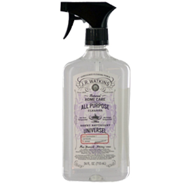 J R Watkins, Natural Home Care, All Purpose Cleaner, Lavender, 24 Fl. oz. (710ml) (Discontinued Item)