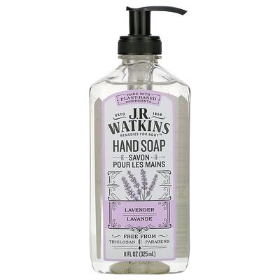 Купить J R Watkins Hand Soap, Lavender, 11 fl oz (325 ml)