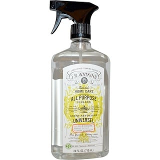 J R Watkins,  All Purpose Cleaner, Aloe & Green Tea, 24 fl oz (710 ml)