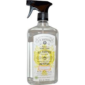 Ж Р Ваткинс, All Purpose Cleaner, Aloe & Green Tea, 24 fl oz (710 ml) отзывы покупателей