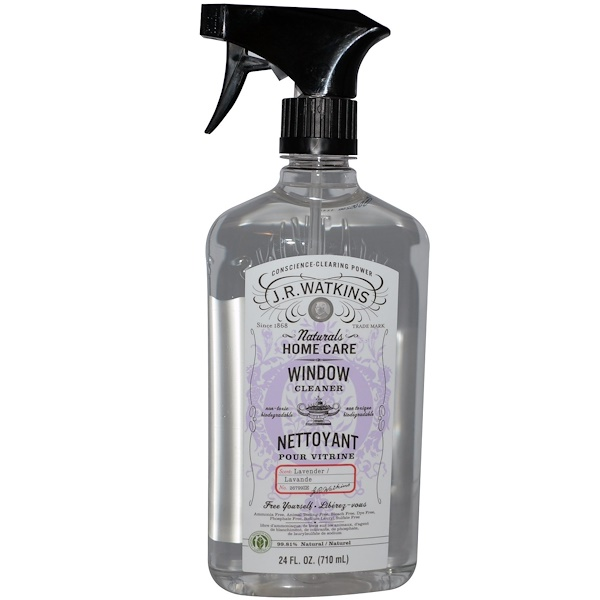 J R Watkins, Для мытья окон, лаванда 24 жидких унции (710 мл) (Discontinued Item)