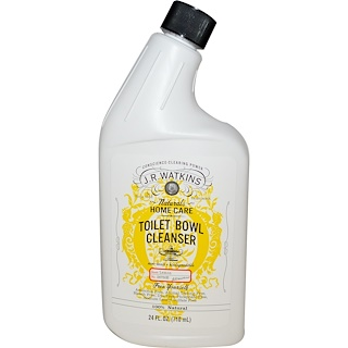 J R Watkins, Toilet Bowl Cleanser, Lemon, 24 fl oz (710 ml)