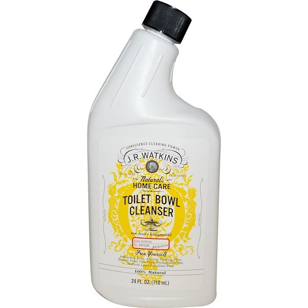 J R Watkins, Средство для очистки унитаза, лимон, 24 жид.унц. (710 мл)
