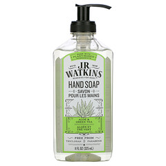 J R Watkins, 洗手液,蘆薈綠茶味,11 液量盎司(325 毫升)